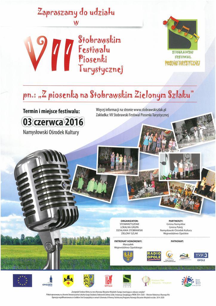 plakat festiwal z piosenką na stobrawskim szlaku.jpeg