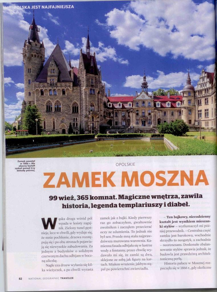 Magazyn Traveler nr 6(127) czerwiec 2018 - Zamek w Mosznej  str.1 .jpeg