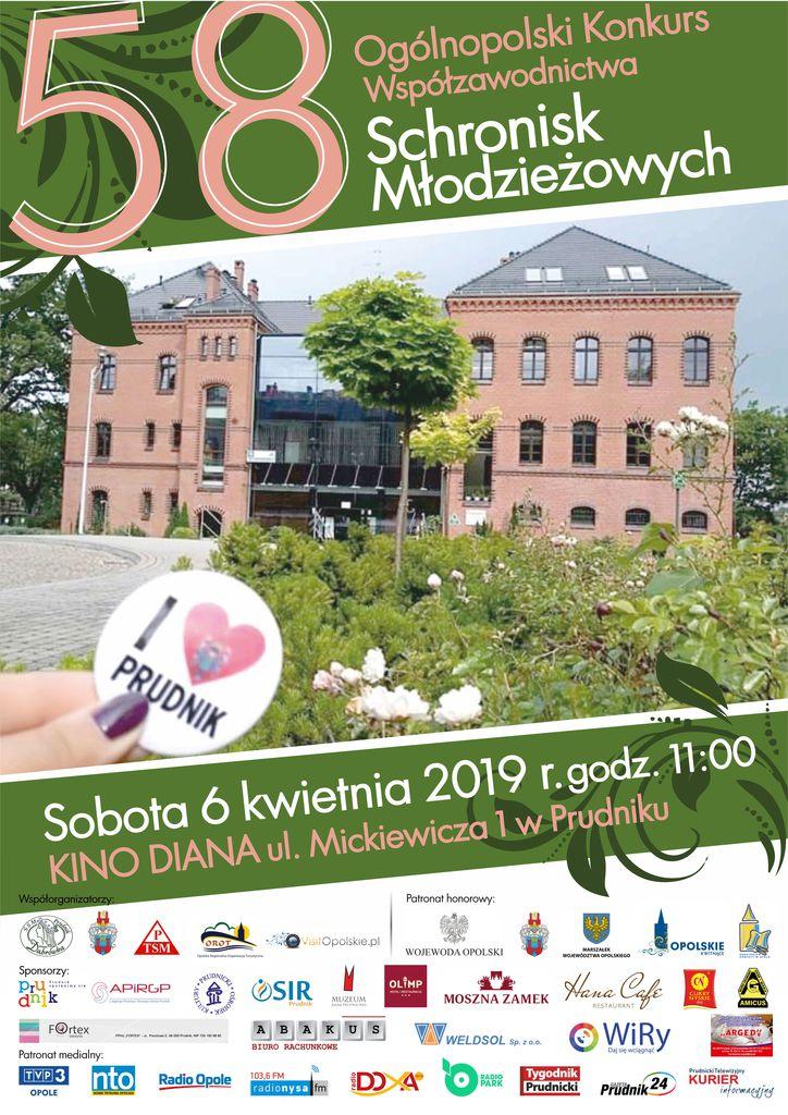 PLAKAT - 58 Ogólnopolski Konkurs Współzawodnictwa Schronisk Młodziezowych w Prudniku.jpeg