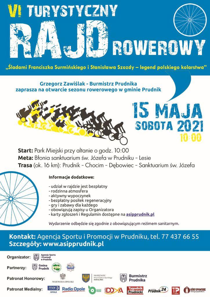 VI Rajd Rowerowy - plakat 2021 (www).jpeg