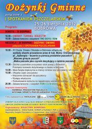 Dożynki + I Spotkanie Pszczelarskie w Bobrowie.jpeg